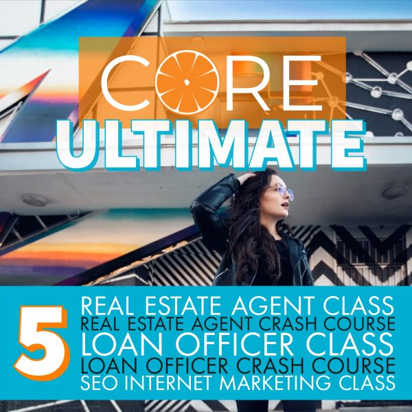 CORE Ultimate College of Real Estate Course SEO Internet Marketing Real Estate Agent School Loan Officer School theCORE